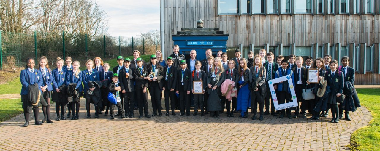 Carlton Bolling Win Cyber Crime Schools Competition