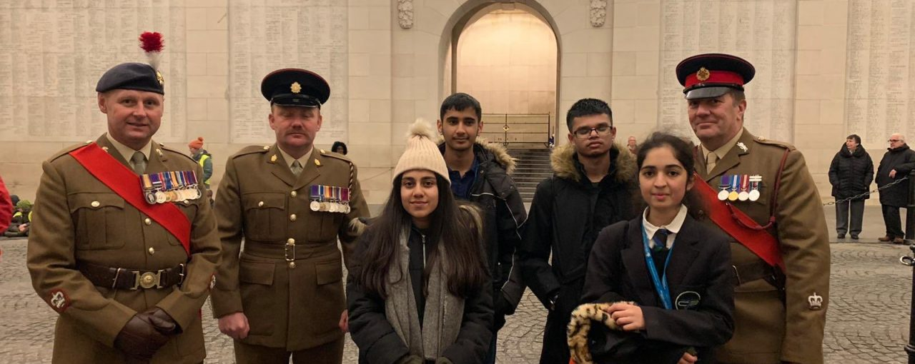 Visit to the War Memorials at Tyne Cot and Menin Gate