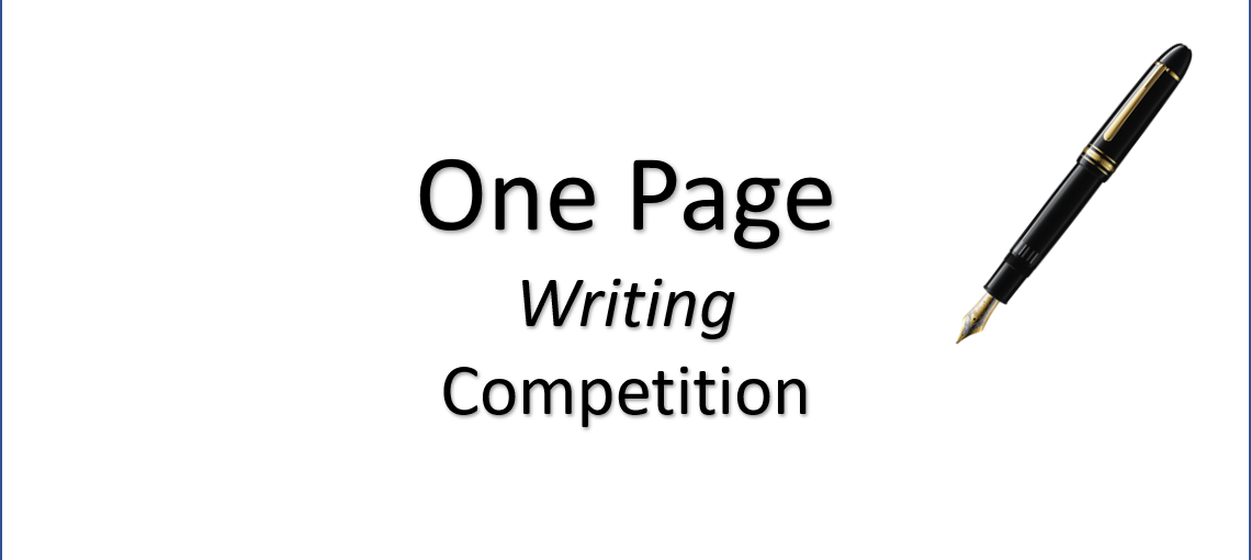 One Page Writing Competition